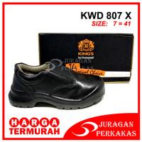 KING'S KWD 807 X Size 7 Sepatu Kerja Safety ASLI KINGS