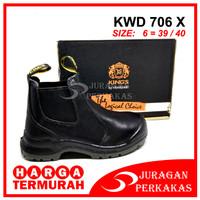 KING'S KWD 706 X Size 6 Sepatu Kerja Safety ASLI KINGS