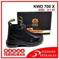 KING'S KWD 706 X Size 8 Sepatu Kerja Safety ASLI KINGS