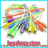 kabel rca kabel audio kabel jack 2 ke 1