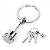 Gantungan kunci piston stainless steel