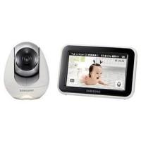 "Samsung Baby Video Monitor HD Touchscreen 5"" Wi-Fi Remote IR SEW 3053"