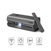 Mini Projector, DLP Projector for Home Theater, Support 1080p 4k Full