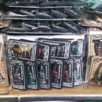 Gantungan Kunci Borobudur Hitam