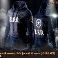 Hoodie Jacket R.P.D POLICE RESIDENT EVIL