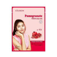 Celebon Collagen Essence Mask Pomegranate Masker Wajah Original Korea