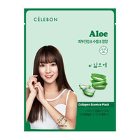 Celebon Collagen Essence Mask Aloe Vera Masker Wajah Original Korea