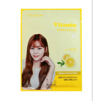 Celebon Collagen Essence Mask Vitamin Masker Wajah Original Korea