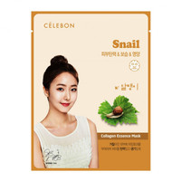 Celebon Collagen Essence Mask Snail Masker Wajah Original Korea