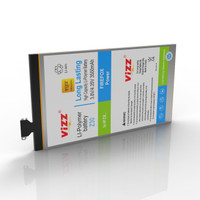 Vizz Baterai Double Power BlackBerry Z30 Original