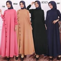 Baju Gamis Wanita Terbaru Gamis Remaja Gamis Bahan Wafer 8313