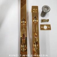 Grendel tanam flush bolt 12 inch ELT B33 gold