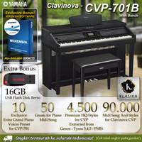 Yamaha Clavinova CVP 701 / CVP-701 / CVP701 B - Digital Piano
