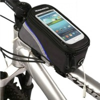 Roswheel Sepeda Sepeda Bingkai Depan Tabung Bag Untuk 4.2 Inch Cell