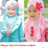Jilbab anak Bunga Matahari