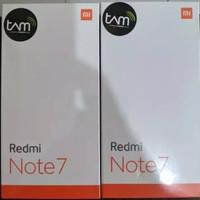 Xiaomi Redmi Note 7 Ram 4/64 GB Garansi Resmi TAM - Hitam