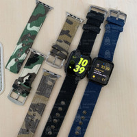 Apple watch strap canvas 42/44mm 38/40mm for 1 2 3 4