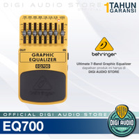 Efek Gitar Behringer EQ700 Graphic Equalizer - Guitar Pedal Stompbox