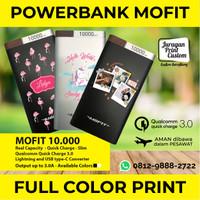 Powerbank Mofit M19 10000mAh CUSTOM PRINT Power Bank ORIGINAL