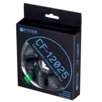ID Cooling CF-12025-G (Green LED, Circular LED Lighting) Fan Case