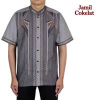 Baju Koko Pria Dewasa 5 Pilihan Warna Bordir Terbaru