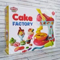 Fun Doh Cake Factory - Lilin Mainan FunDoh / PlayDoh / Play Doh