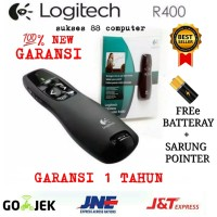 LASER POINTER LOGITECH-: R400 USB WIRELESS PRESENTER LASER RED 100%NEW