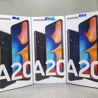 SAMSUNG GALAXY A20 / A 20 3GB / 32GB 2019 GARANSI RESMI SEIN INDONESIA