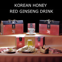 Promo Korean Red Ginseng Drink With Honey
