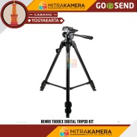 Tripod Benro T600EX Digital Kit - Hitam