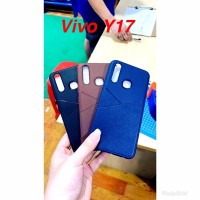 Vivo Y17 Soft Case Leather