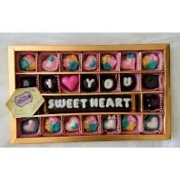 chocolate gift S28B - coklat ucapan i love you sweetheart