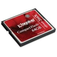 Kingston Compact Flash Memory Card Ultimate 266x (45MB/s) 64GB - CF/6