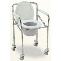 Commode Chair Dengan Roda Atau Kursi BAB Limited