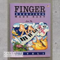 Buku Finger Exercise Made Easy Level 1-3