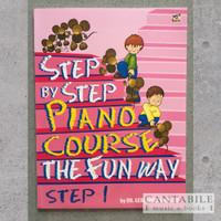 Buku Step By Step Piano Course The Fun Way Step 1-4