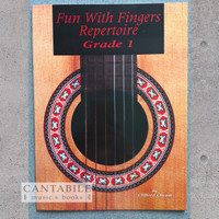 Buku Fun with Fingers Repertoire Grade 1 (by Clifford Cheam)