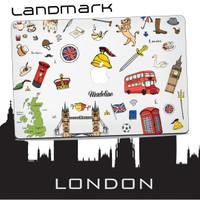 CASE MACBOOK Case CUSTOM LONDON LANDMAR NEW AIR PRO RETINA 11 12 13 15
