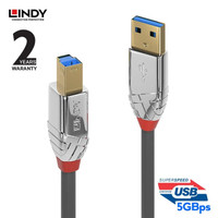 LINDY #36662 Cromo USB 3.0/3.1 Cable, Type A/B, 2m