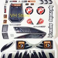 HPI racing trophy buggy flux decal rc car stiker sticker