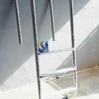 tangga kolam renang stainless steel model U