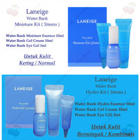 Laneige Water Bank Hydro Kit 3items ( Travel Size )