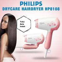 HairDryer Pengering Rambut 400w Philips HP8108 HP 8108 Pink