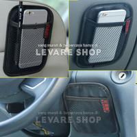 Car Storage Organizer Kantong di Mobil - Net Pocket Tempat HP dll (S)