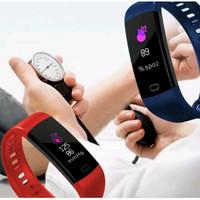 Smartwatch Y5 Jam Tangan BRACELET Cerdas Alat Pengukur Tekanan Darah