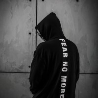 """""""FEAR NO MORE"""" PULL-OVER HOODIE"""
