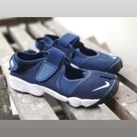 Sepatu Nike Air Rift Navy Premium Original / Sandal Ninja