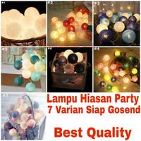 Lampu Hiasan Untuk Pesta dan Dekorasi Rumah (Terlariss)