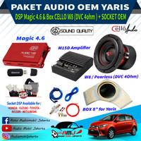 Paket Audio Mobil Oem Toyota Yaris