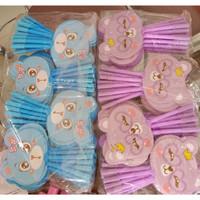 Pulpen kipas animal korea/souvenir pernikahan